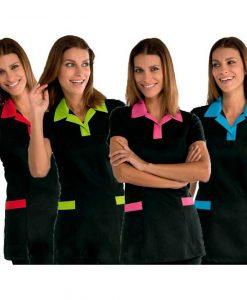 casullas_negras_trinidad_con_cuello_color_isacco-laboral-mujer-uniforme-casaca