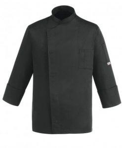 chaqueta-de-cocina-unisex-egochef-104048-black-cheap