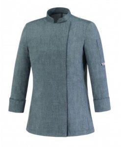 chaqueta-de-cocinera-egochef-104062-grey-mix-girl